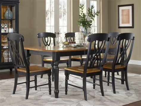 dining room sets black marvelous black dining sets 7 farm style dining room sets