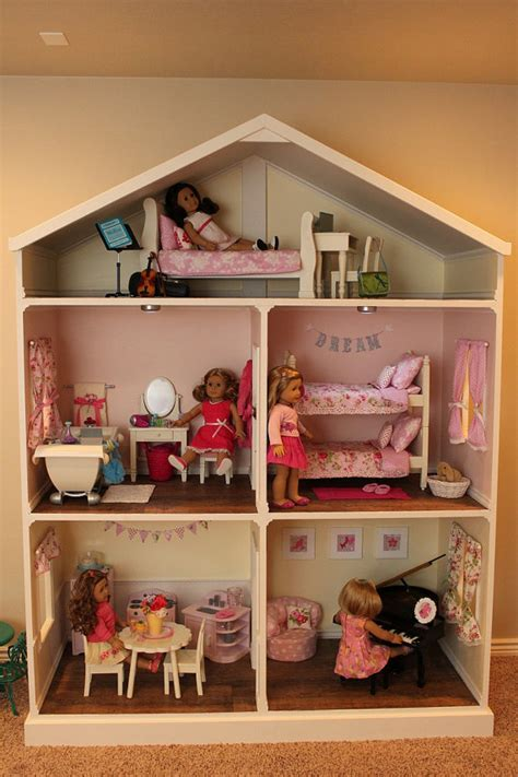 18 inch doll house plans free american dollhouse plans pdf woodworking