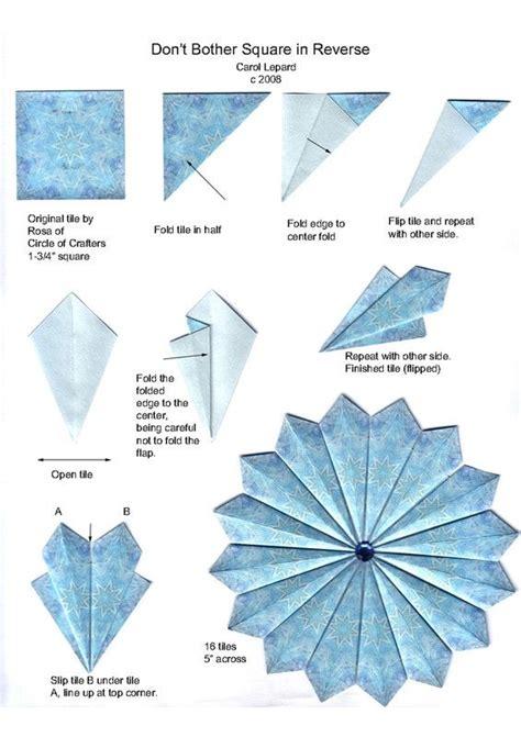 origami tea bag tea bag iris folding tea bag