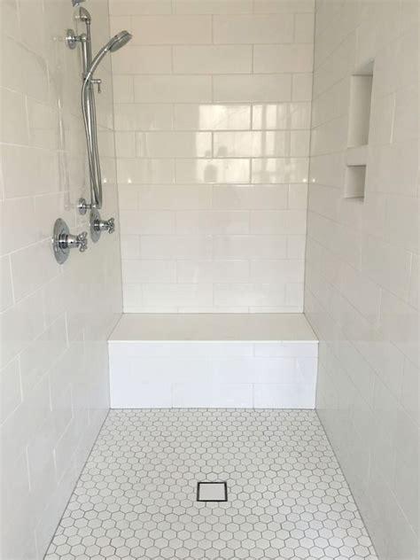 bathroom shower floor tiles best 25 large tile shower ideas on grey tile