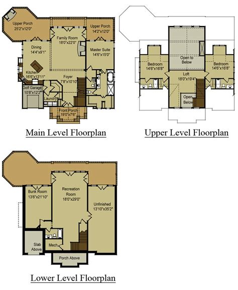 mountain home designs floor plans mountain house floor plans home
