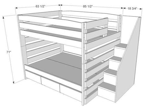 solid wood bunk beds with stairs best 25 bunk beds ideas on bunk rooms