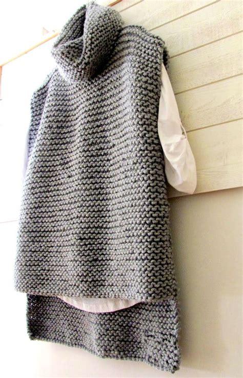 knit patterns for vests in one 17 beste idee 235 n knit vest pattern op