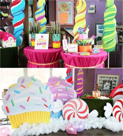 candyland decorations ideas how to make lollipop decorations glorious treats