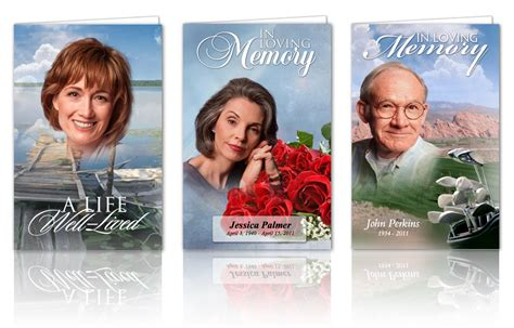 make your own memorial cards free funeral program template for funeral program edit and get