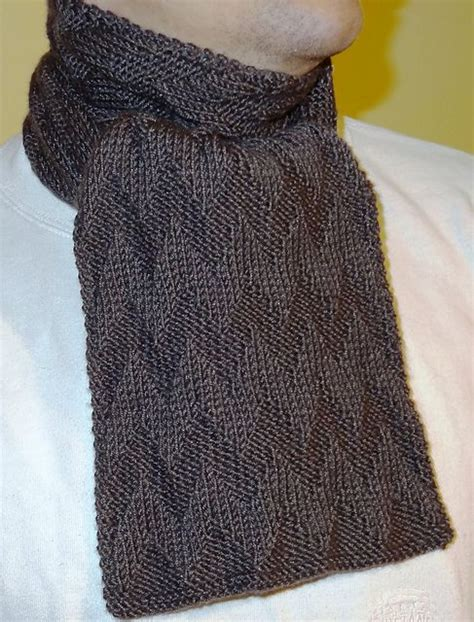 simple mens scarf knitting pattern chevron scarves compliments of and chevron on