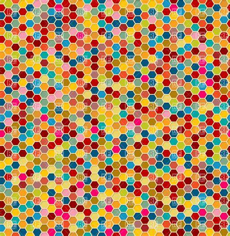 mosaic background mosaic background tiles honeycomb seamless pattern