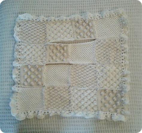 bobble blanket knit pattern knitting patterns galore bobble carseat baby blanket