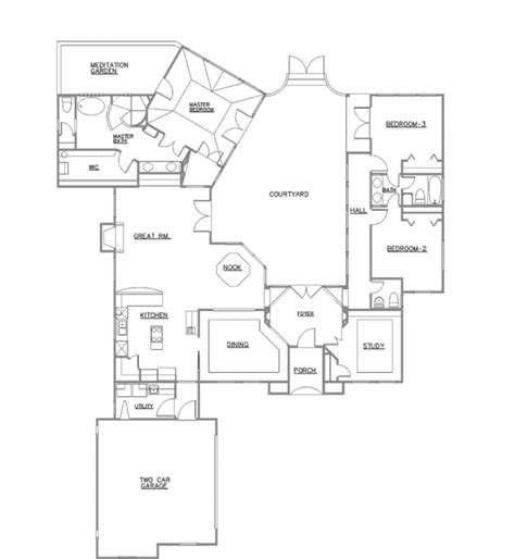 custom ranch floor plans craftsman house plans with walkout basement simple open floor luxury ranch for entertaining