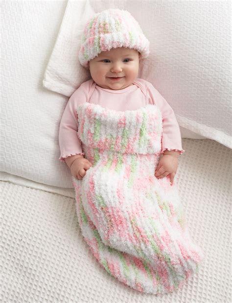 baby cocoon knitting pattern bernat knit baby cocoon knit pattern yarnspirations