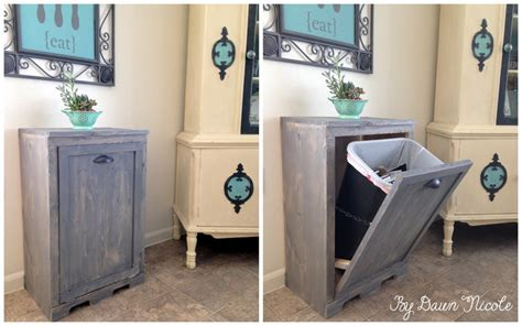 kitchen cabinet garbage can 8 ways to hide or dress up an kitchen trash can