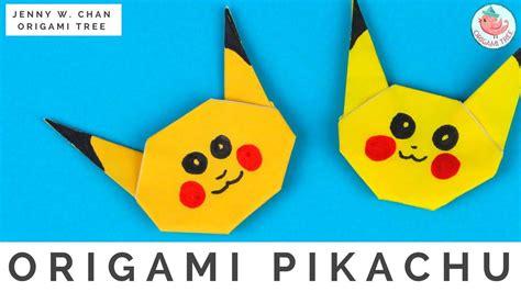 how to make pikachu origami origami pikachu allfreepapercrafts