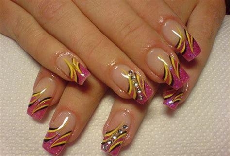 acrylic paint nail ideas print nail designs for acrylic nails acrylic
