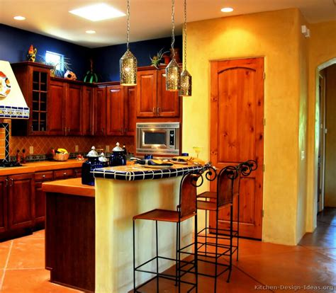 kitchen color design ideas mexican kitchen decorations afreakatheart