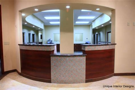 front desk designs for office dental office showcase 2 unique interior designs