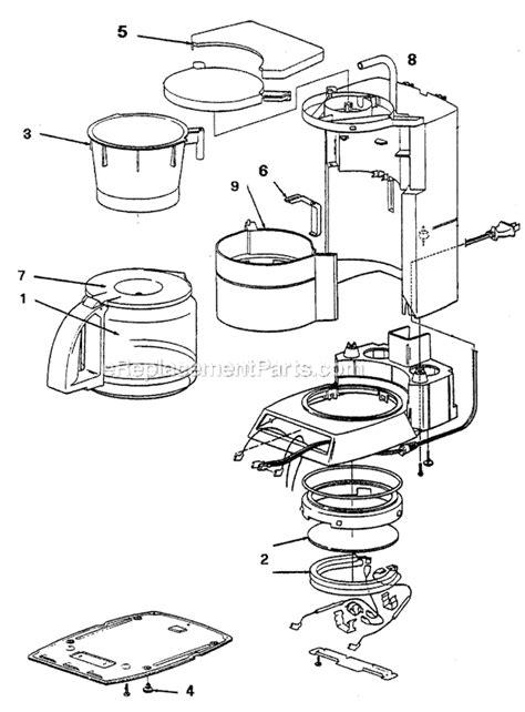 Coffee Maker Diagram