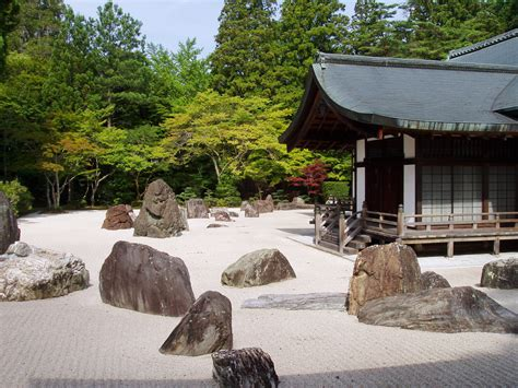 japanese rock gardens pictures file kongobuji temple koyasan japan banryutei rock