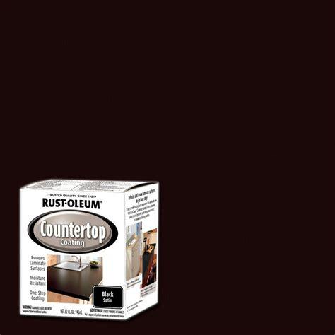 home depot paint for countertops rust oleum specialty 1 qt black satin countertop interior