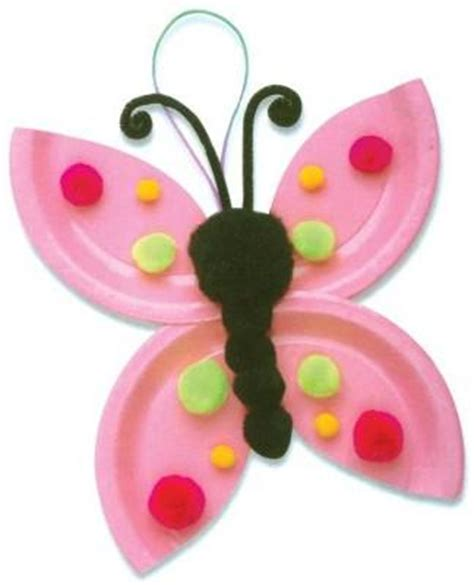 butterfly paper plate craft paper plate crafts