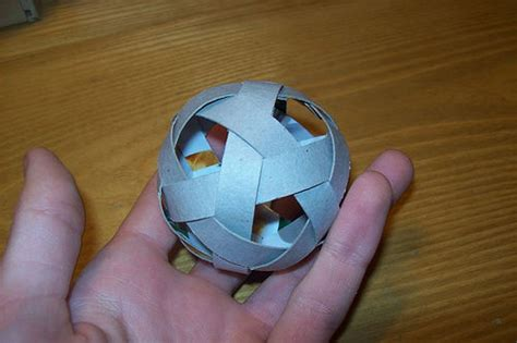 how to make origami sphere 15 best photos of origami paper football how to make a