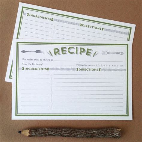 how to make a recipe card classic recipe cards printable by basic invite