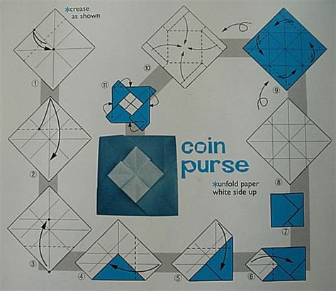 origami change purse origami coin purse pattern search bags and