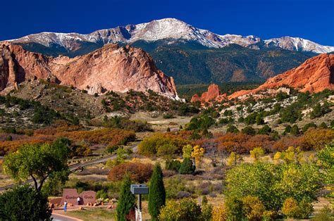Garden Of The Gods Fall Garden Of The Gods In Autumn 2011 Photograph By Hoffman