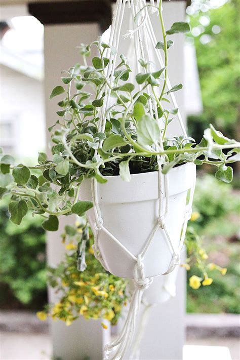 diy hanging planters 10 affordable outdoor diy projects