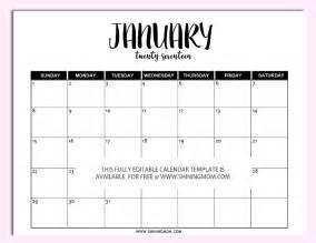 free printable fully editable 2017 calendar templates in