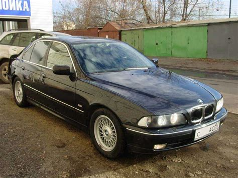 Bmw 528i 1999 by 1999 Bmw 528i Pictures 2800cc Gasoline Fr Or Rr