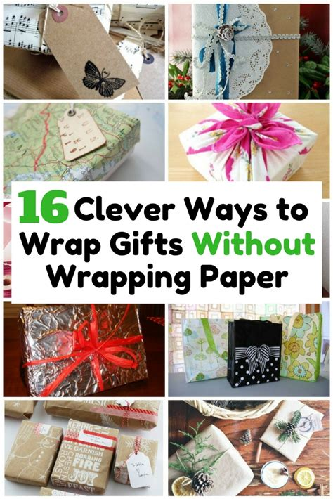 ways to wrap gifts easy craft ideas