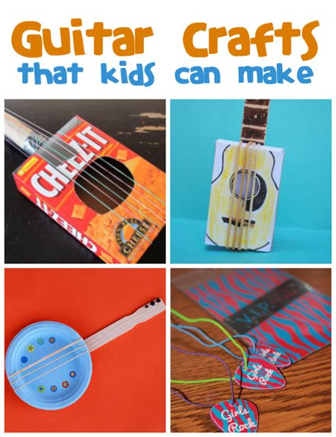 Guitar Crafts For Family Crafts