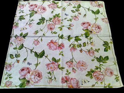 Isha Home Decoupage Tissue Paper