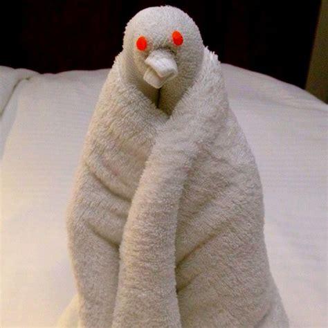 origami towel animals towel animal handdoekfiguren