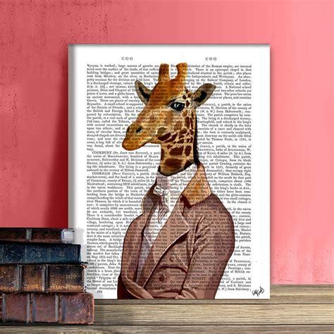 Giraffe Print Home Decor giraffe print regency giraffe by fabfunky home decor