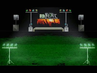 the light professionals 8th beat lights and sounds rental service package 2015