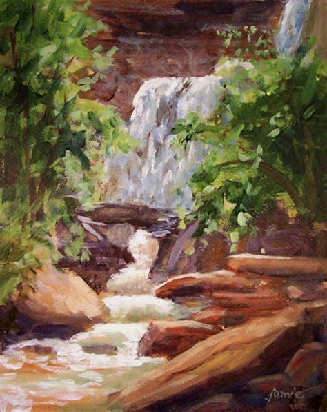 acrylic painting scenery scenery paintings acrylic