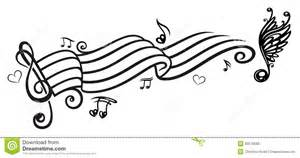 music music notes clef royalty free stock photo image