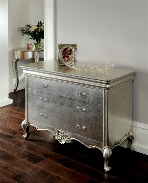 cristal silver leaf furniture eclectic