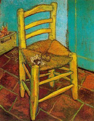 silla de van gogh ut pictura poesis la silla amarilla de van gogh de jorge