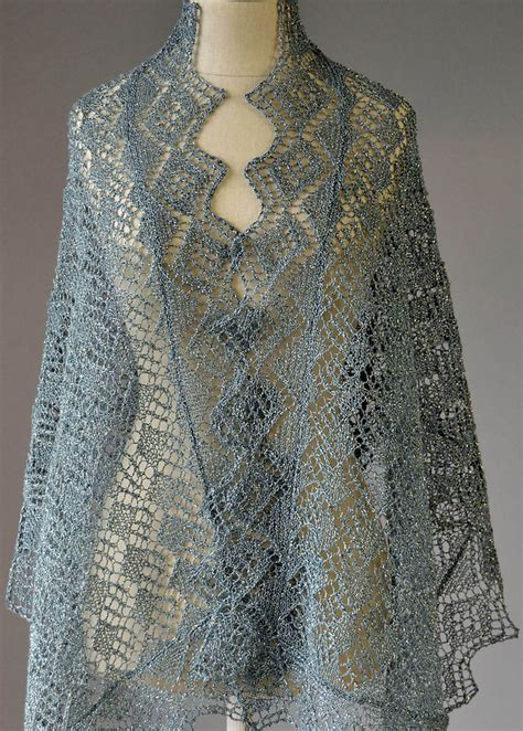 free knit lace shawl patterns lace shawl and wrap knitting patterns in the loop knitting