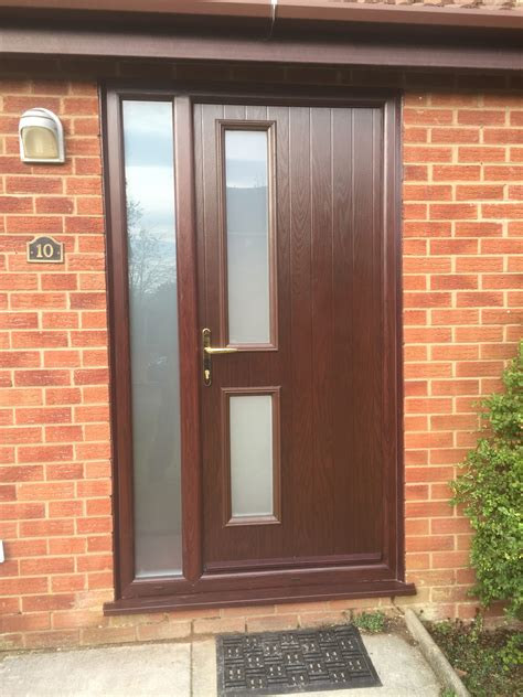 brown front doors upvc doors rhino building solutions