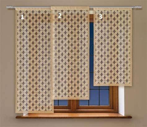 63 Panel Curtains by Modern Window Net Curtain Panel Ready To Hang Colour
