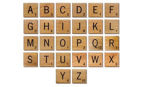 buy scrabble pieces novelty solid oak scrabble letters wall