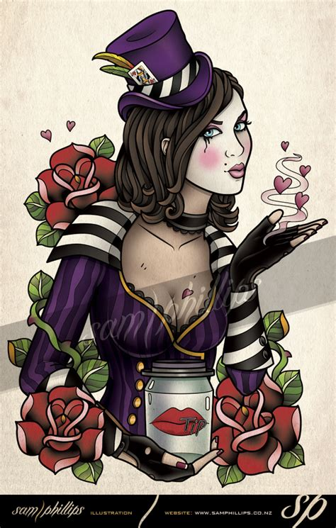 mad moxxi tattoo by sam phillips nz on deviantart