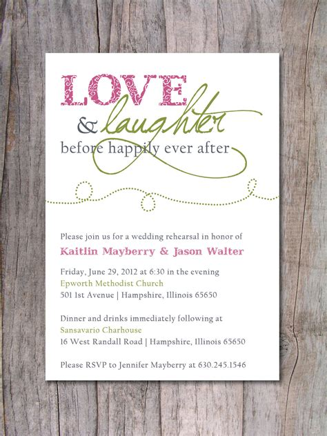 after invitations rehearsal dinner invitation happily after by pinchofspice