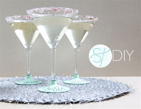 diy chalk paint glasses how to make diy chalkboard martini glasses