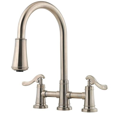 price pfister ashfield kitchen faucet pfister ashfield 2 handle pull sprayer kitchen faucet