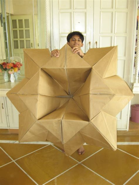 how big is origami paper big origami paper flower