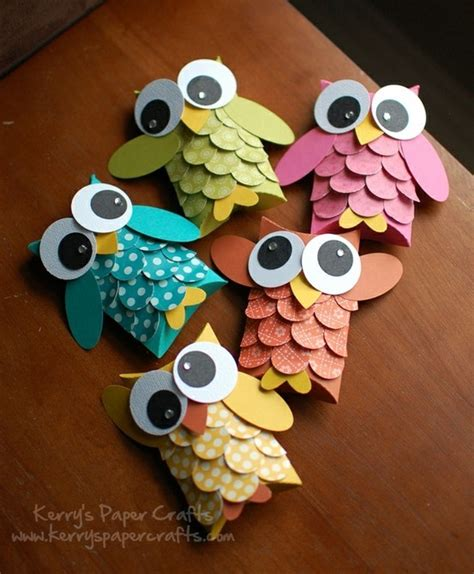 kerry paper crafts adorable owls from kerry s paper crafts creative craft